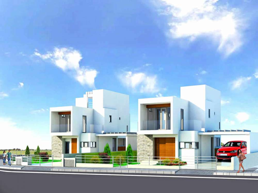 Παραθαλάσσιες κατοικίες Λάρνακα