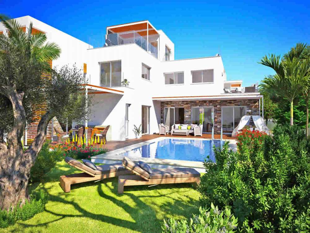 Homes in Paphos with swimming pool