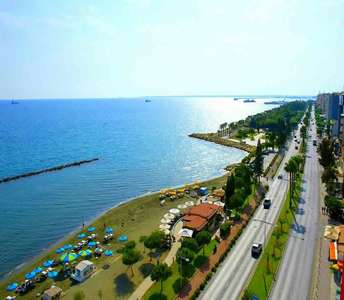 Seafront sea view apartment in Limassol