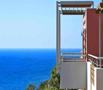 Sea view apartments for sale in Limassol