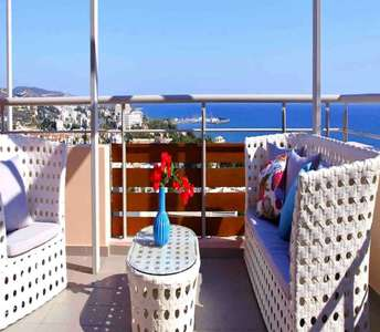 Flats for sale in Limassol sea view