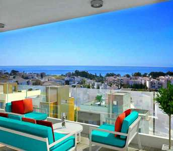 Sea view flat for sale in Limassol