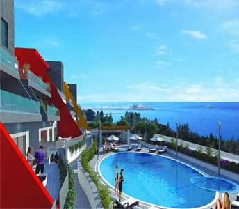 Sea view apartments in Limassol