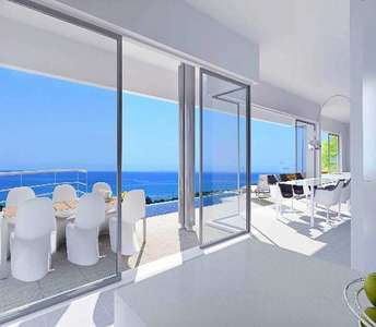 BUY SEA VIEW LUXURY VILLA LIMASSOL