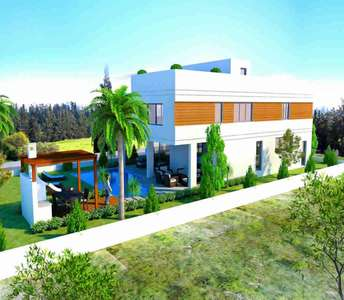 Modern house in Larnaca