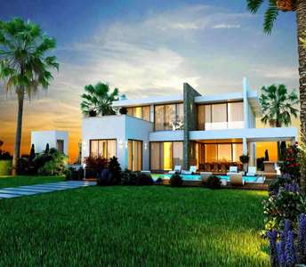 BUY SEAFRONT LUXURY VILLA IN LARNACA