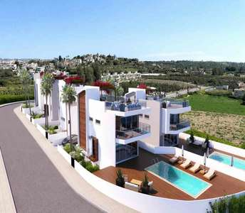 BEACHFRONT VILLAS IN PAPHOS