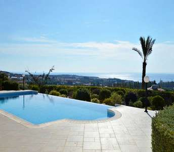 Paphos sea view property for sale