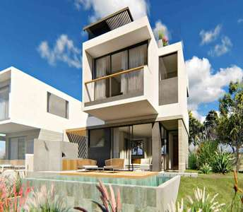 Sea view modern villas in Limassol
