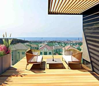 Villas in Limassol sea view