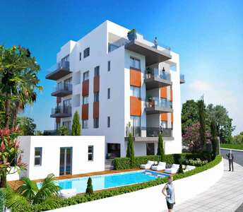 New one bedroom apartments in Limassol