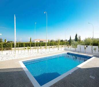 Modern villas in Protaras