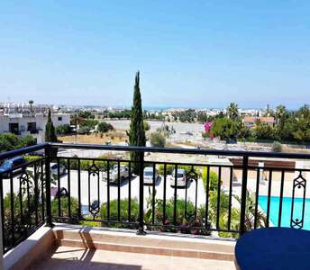 Sea view property in Paphos