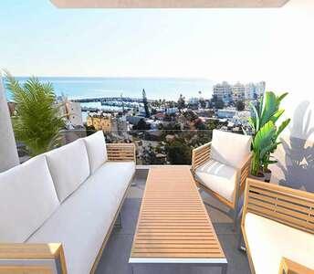 Θέα θάλασσα διαμέρισμα προς πώληση Λάρνακα