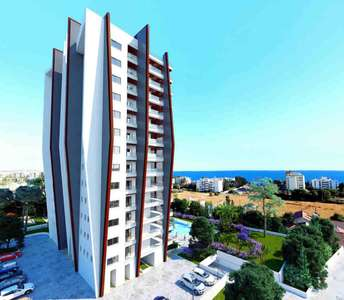 Flats for sale Limassol sea view