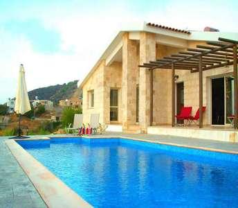 недвижимость с видом на море в Помосе Пафос
