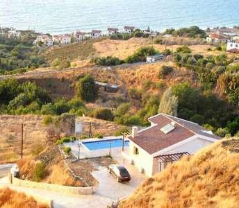 Кипр дом с видом на море Помос