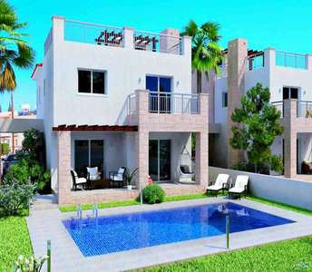 SEASIDE VILLAS FOR SALE IN PAPHOS