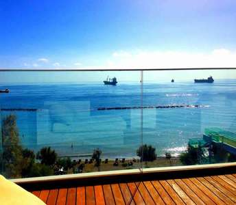 Buy seafront apartment Limassol
