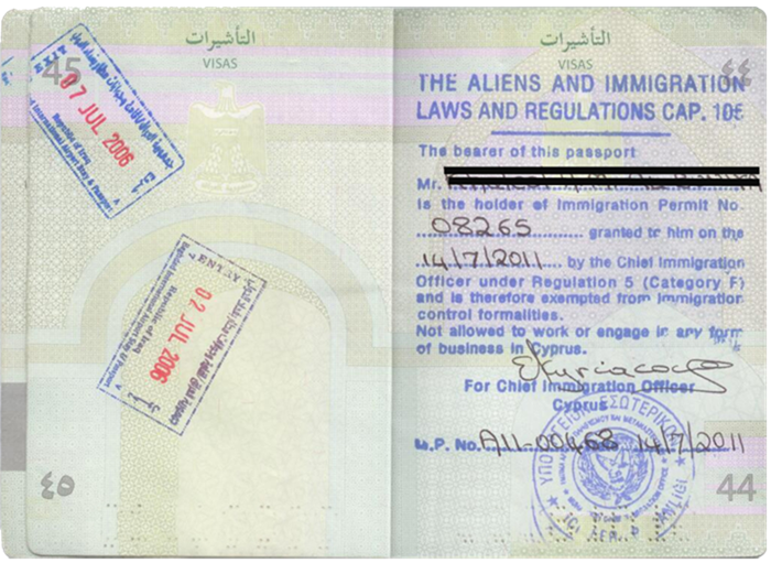 Permanent visa in Cyprus